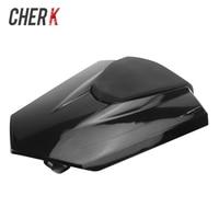 Cherk Motorcycle Black Plastic Rear Seat Fairing Cover Cowl Tail Cover For HONDA CBR1000 CBR 1000 2017 2018 17 18