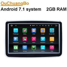 Ouchuangbo auto multimedia gps radio für Benz A B 2012-2013 CLA 2013-2014 GLA 2013-2015 mit HD wifi android 7.1 OS 2 GB RAM