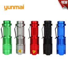 2019 New Powerful light XPE/Q5 Led flashlight Mini Torch Por