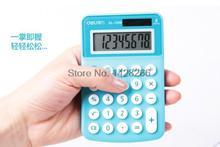 1 Piece Deli  1209 Calculator Mini Calculators Office Small Business portable calculator