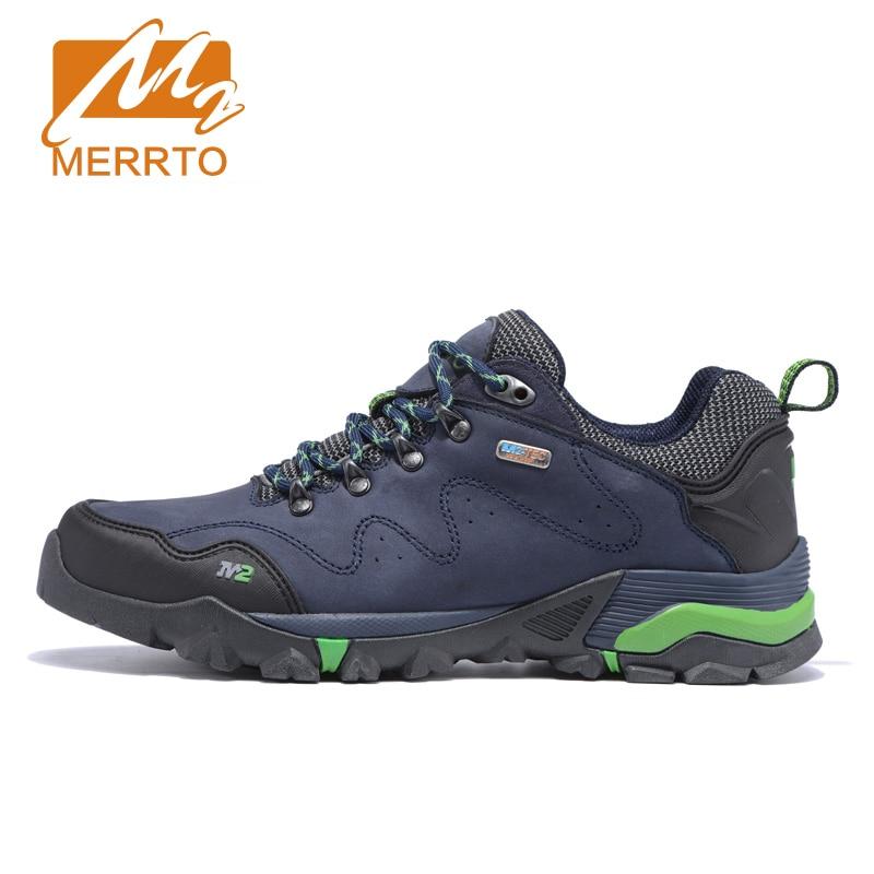 MERRTO Outdoor Breathable Hiking Shoes For Men Waterproof Shoes Men Waterproof Hiking Shoes For Women Trekking Walking Shoes Man 2016 man women s brand hiking shoes climbing outdoor waterproof river trekking shoes