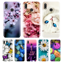 Phone Case For Huawei P20 P10 P9 P8 Lite 2017 Soft Silicone Cute Cat Painted Back Cover For Huawei P20 Pro P9 Lite Mini  Case my person greys anatomy doctor nurse soft tpu case for huawei p8 p8lite p9 p9lite p10 p20 p20 lite p20 pro cartoon back cover