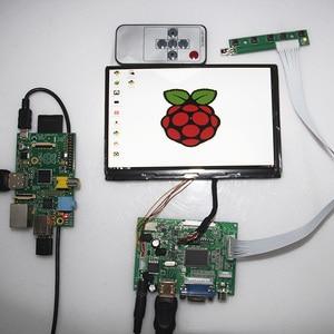 N070ICG LD1 for RasPi RPI Raspberry pi VGA 2AV HDMI LCD Controller Board 7inch 1280*800 40pin LVDS