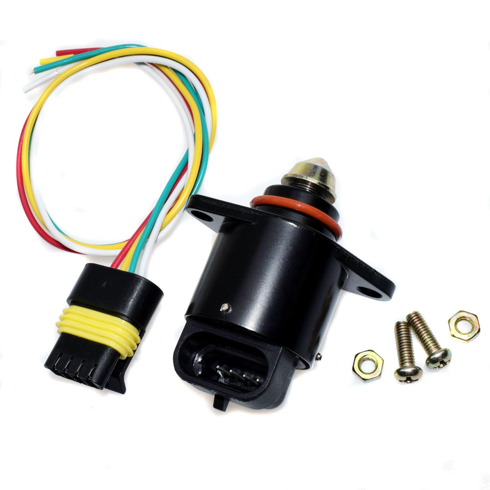 WOLFIGO New Control Idle Air Valve W/ Or W/O Pigtail Wires For BUICK G-MC Chevrolet Oldsmobile 17112479,17112649,17113099