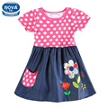 Girls dress girls clothes novatx children tutu princess dresses for girls party evening polka dots kids summer dress girls H5748