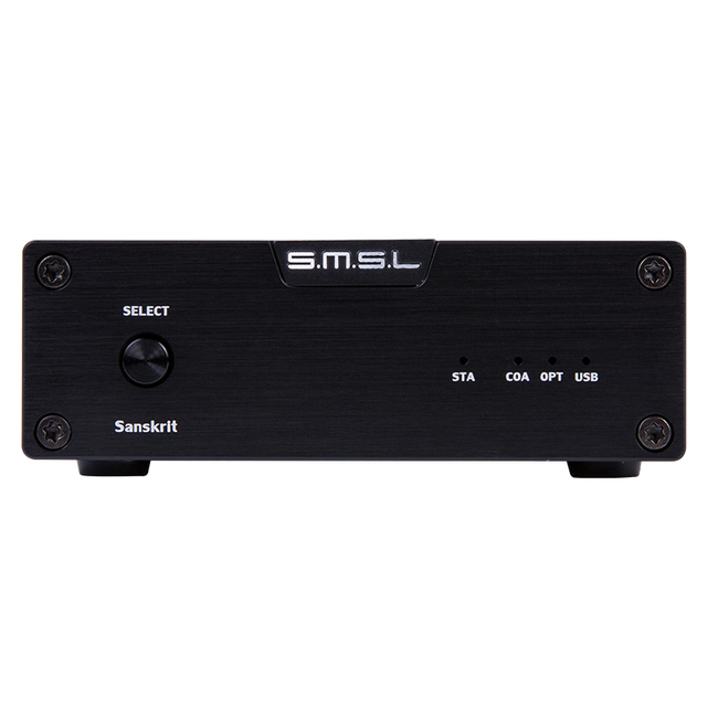 US $107 99  SMSL Sanskrit 6th Anniversary Edition DAC Coaxial Optical Port  Decoder With USB Input Available For Windows Mac OS IOS Android-in
