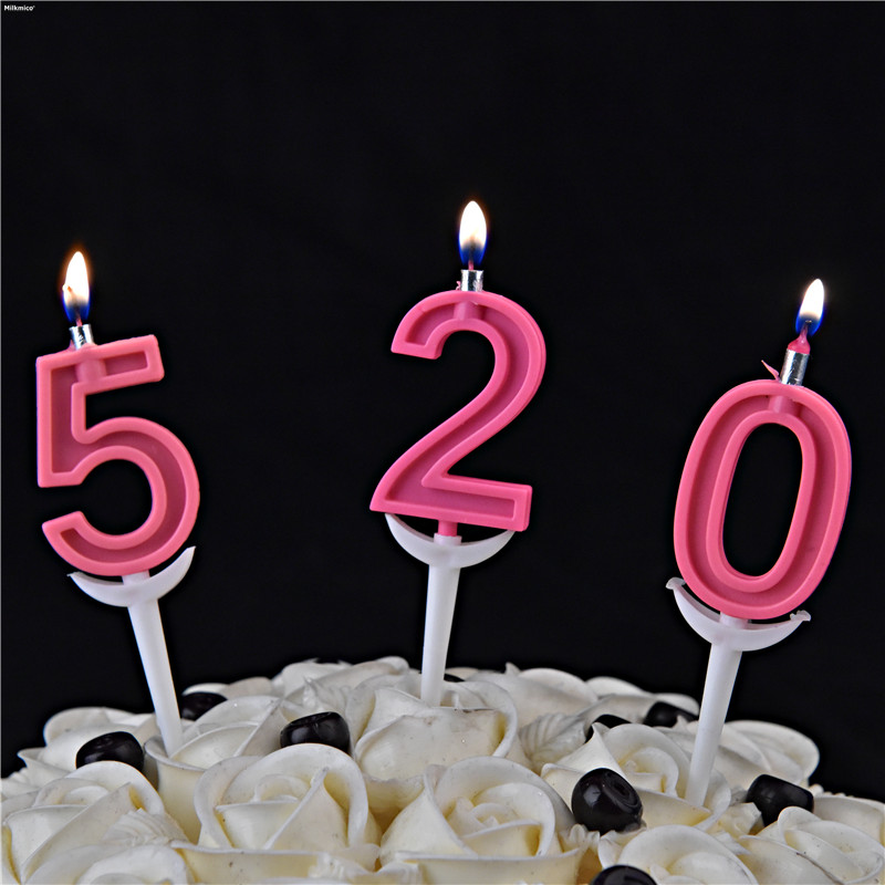Detail Feedback Questions About Milkmico Birthday Cake Candles Smokeless Child Baby Party Candle Number Decorative For