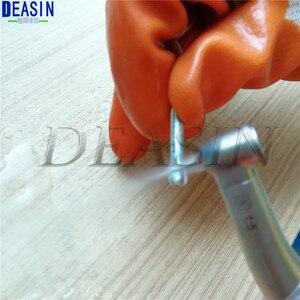 Image 5 - LED óptico de fibra Dental de alta calidad 1 uds/Pieza de mano de baja velocidad contraángulo de fibra óptica 1:1 1:5 20:1 Deasin