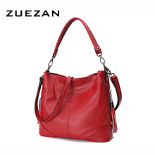 Мягкая кожаная сумка с кисточками, женская сумка через плечо из натуральной кожи, женские повседневные сумки через плечо из натуральной воловьей кожи A414