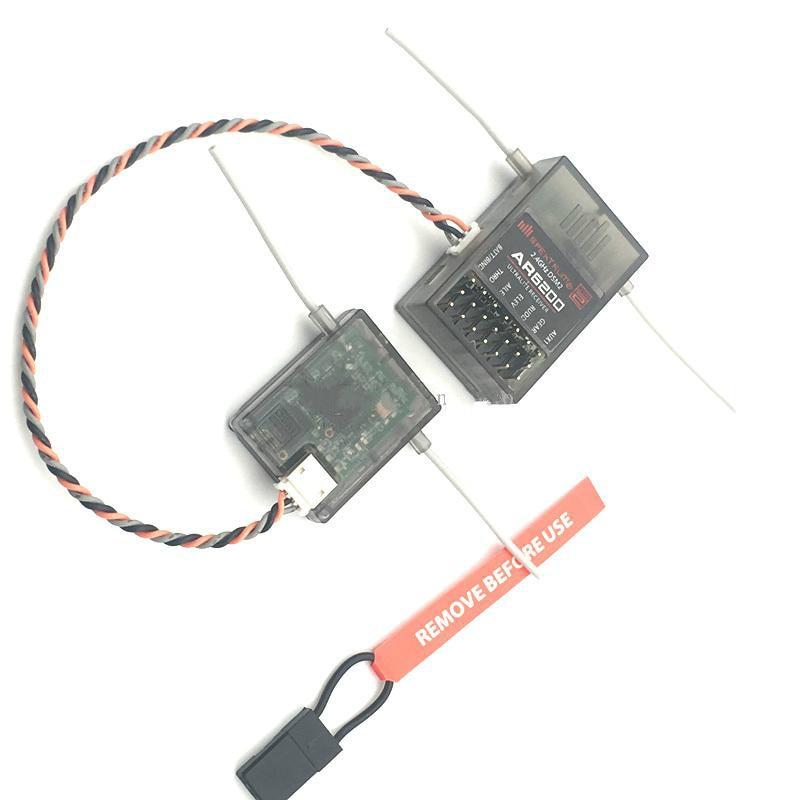 Spektrum AR6200 2,4G 6Ch receptor para DX6i JR DX7 DSM2 con receptor de satélite
