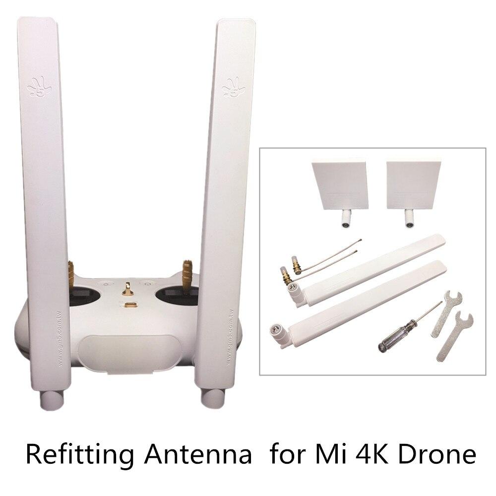 Антенны и установка усилитель сигнала 8DB всенаправленный 7DB ориентационное ремонт антенны 5 км Расстояние для Mi 4 К Drone