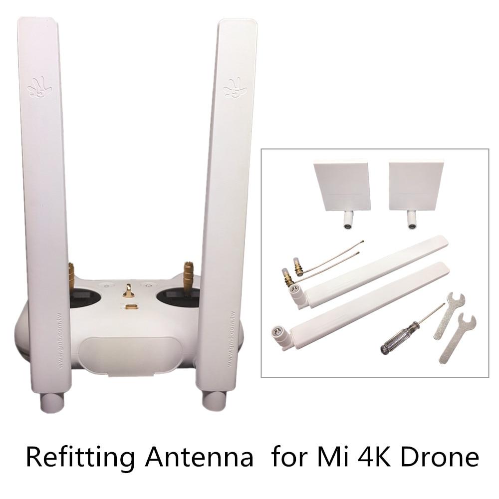 Antenna Refitting Signal Booster 8DB Omnidirezionale Orientational Refit Antenna 7DB 5 km Distanza per Mi 4 K Drone