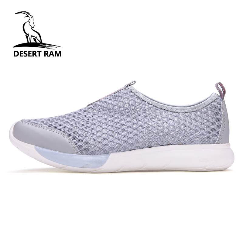 DESERT RAM Brand Fashion Shoes Men Casual Lovers Air Mesh Sneakers High Top Summer Aqua Breathable Canvas Slip On Boat Mens Shoe e lov women casual walking shoes graffiti aries horoscope canvas shoe low top flat oxford shoes for couples lovers