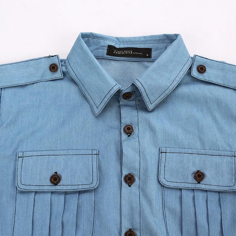 HTB1lY0YNXXXXXcCXVXXq6xXFXXXK - Blouses Sexy Sleeveless Jeans Denim Blue Shirts Female Casual