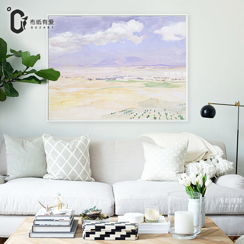 Purple romance wall painting living room canvas art for 12x16 living room layout