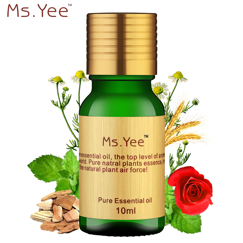 Compound Essential Oil Pure Natural Tea Tree Rosemary Eucalyptus Jojoba Extracted Repair Hair Anti Dandruff Hair Care Product