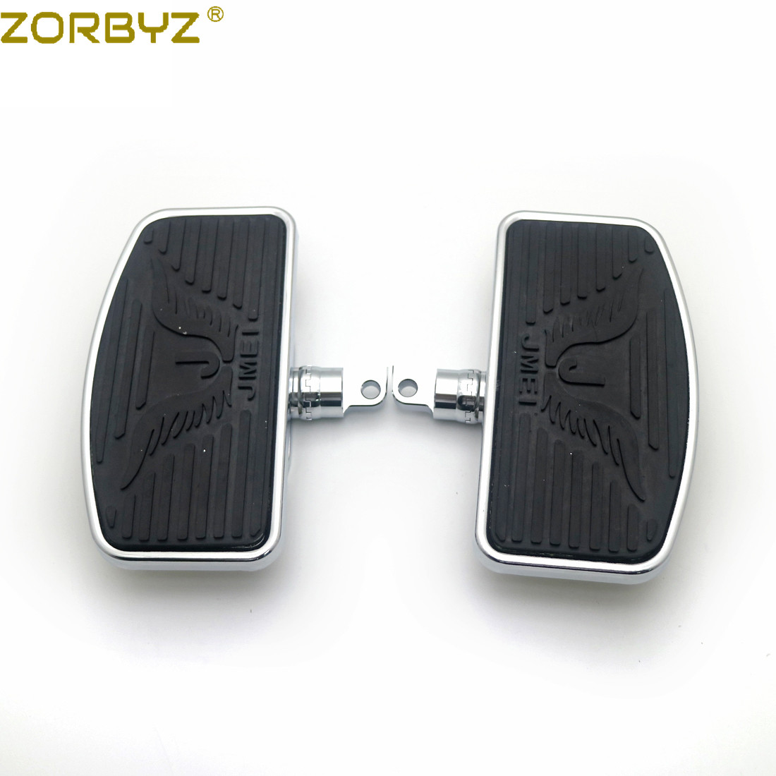 ZORBYZ Floorboard Passenger Motorcycle Adjustable Harley 883 Sportster Dyna Rear 1200