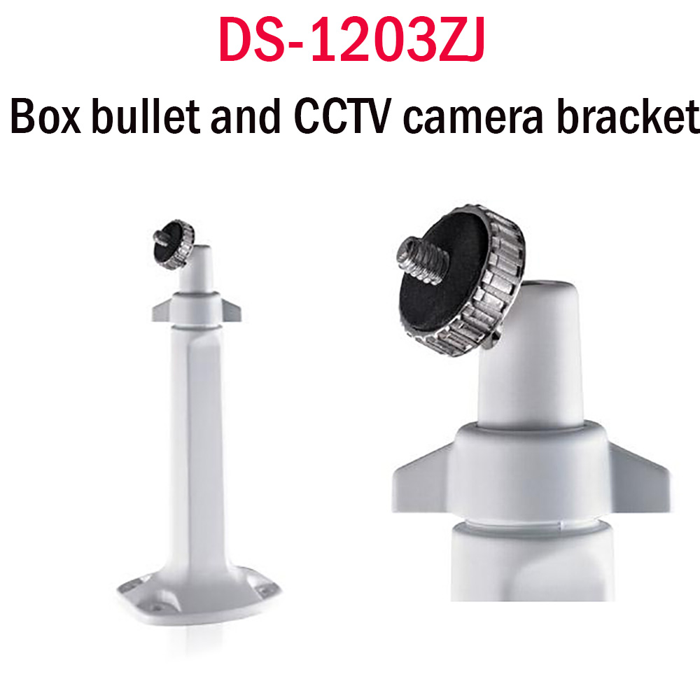 CCTV AcessoriesWall Mount Support Bracket for security CCTV IP Analog Onvif H.264 Shied Housing DS-1203ZJ Cameras cctv security explosion proof stainless steel general bracket