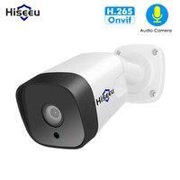 Hiseeu 1080P 2.0MP Bullet POE IP Camera audio ONVIF Waterproof network security camera Outdoor home video surveillance