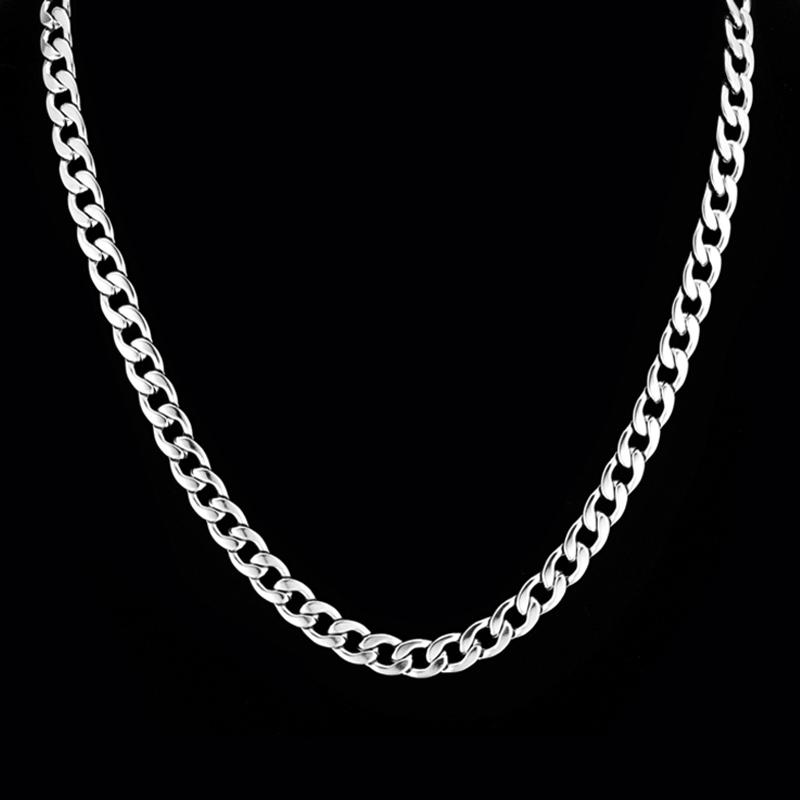 dp necklace stainless for steel men quot jstyle chain male inch