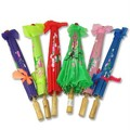 [ Fly Eagle ] 100pcs X Janpance Plain fabric bamboo Parasol/umbrella with ribbon wedding favor 22inch 10 colors