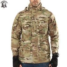 SINAIRSOFT, уличный Тактический Тренч Archon, Мужское пальто, дизайнерское, военный, водонепроницаемый, M65, мужской ветрозащитный плащ для охоты