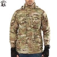SINAIRSOFT Outdoor Archon Tactical Trench Men Coat Designer Military Waterproof M65 Trench Coat Men Windproof Hunting