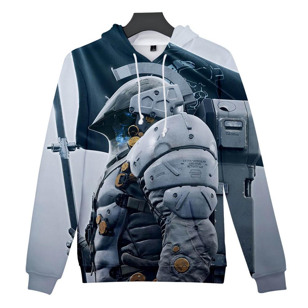 Death Stranding Hoodie Men Women Kid 3d Sweatshirt Hideo Kojima Production Clothes Clothing(China)