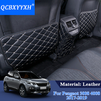 PU Car Interior Seat Protector Side Edge Protection Pad For Peugeot 3008 5008 2017 2018 Car