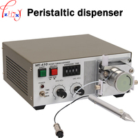 110/220V 30W 1PC Peristaltic glue dispenser machine MT 410 quick drying glue liquid dispensing machine peristaltic glue machine