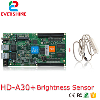 hd-a30-led-display-control-card-rgb-full-color-video-wall-sending-card-a30-asynchronous-controller-with-brightness-sensor