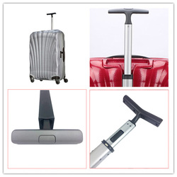 Trolley accessories suitcase luggage rod trolley handle chassis bag luggage parts zipper lock repair part replacement maintain
