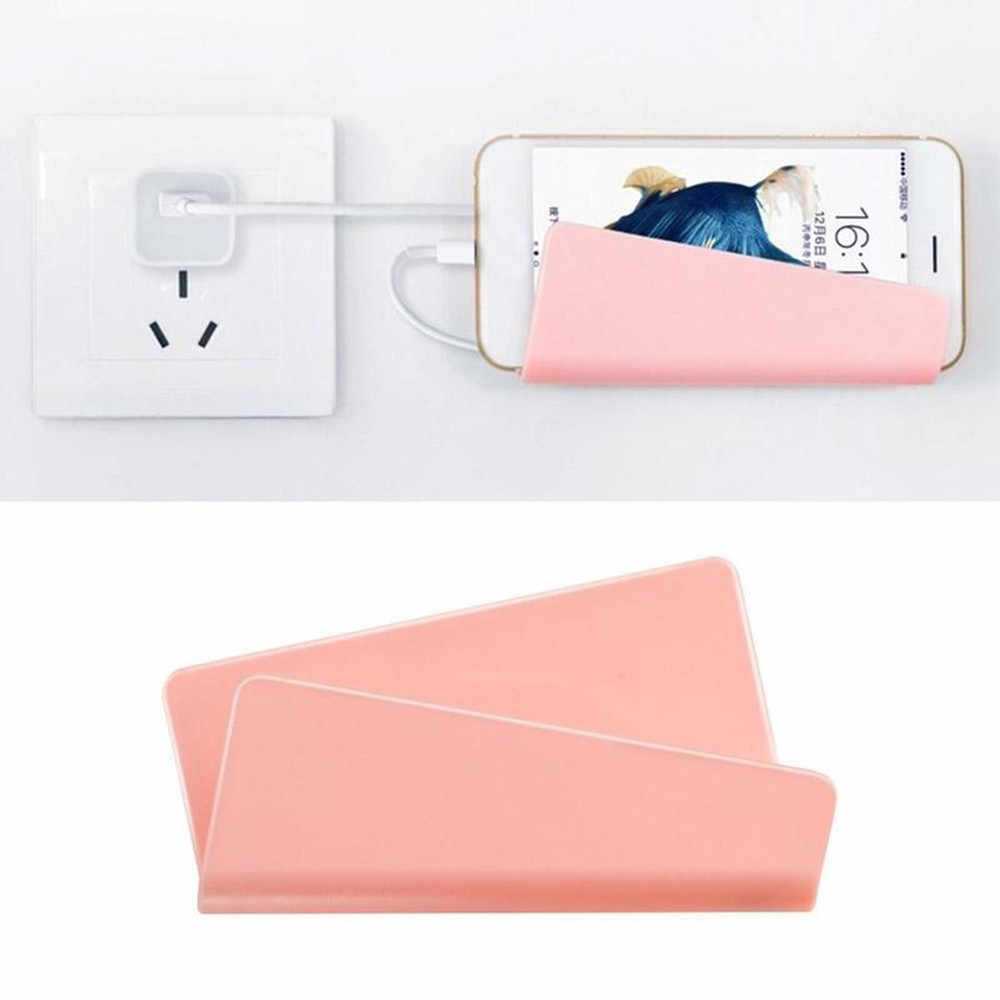 Universal Wall Charger Stand for Cell Mobile Phone Mount Holder Base Support Convenience Smartphone Holder Tools#0