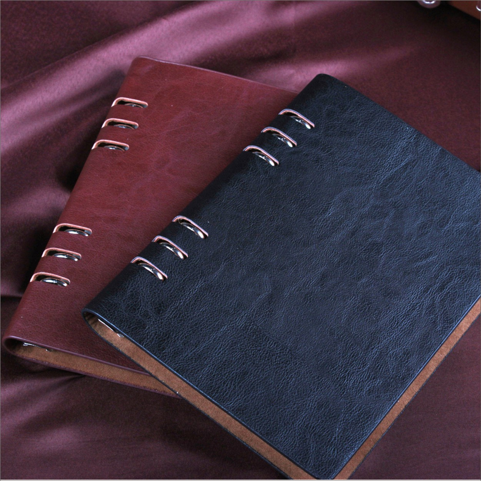 A5 A6 DokiBook Spirale Vintage Notebook Journal Pad Bureau de L'école Planner Agenda Filofax Voyages Journal Sketchbook Journal
