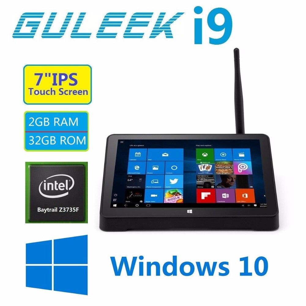 I9 Mini PC con LED Windows10 Guleek Android OS dual 7 \