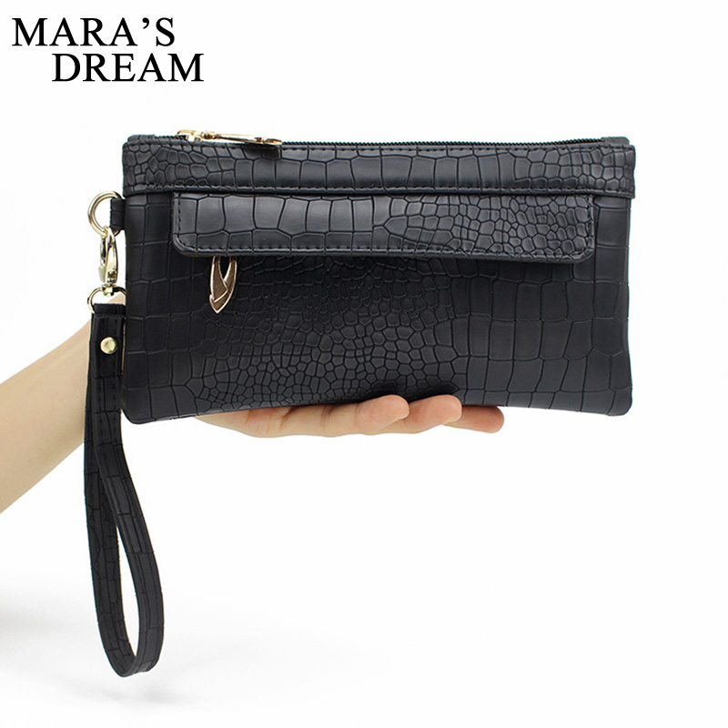 Mara's Dream Candy Color PU Leather Women Bag Day Clutches Women Envelope Bag Clutch Evening Bag Female Handbag Wristlets Bags