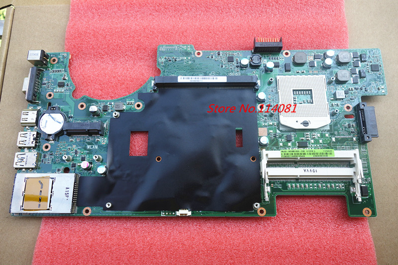 ФОТО For ASUS G73SW Motherboard 60-N3IMB1000-C08 system PC board ,2D connector with 4 ram slots