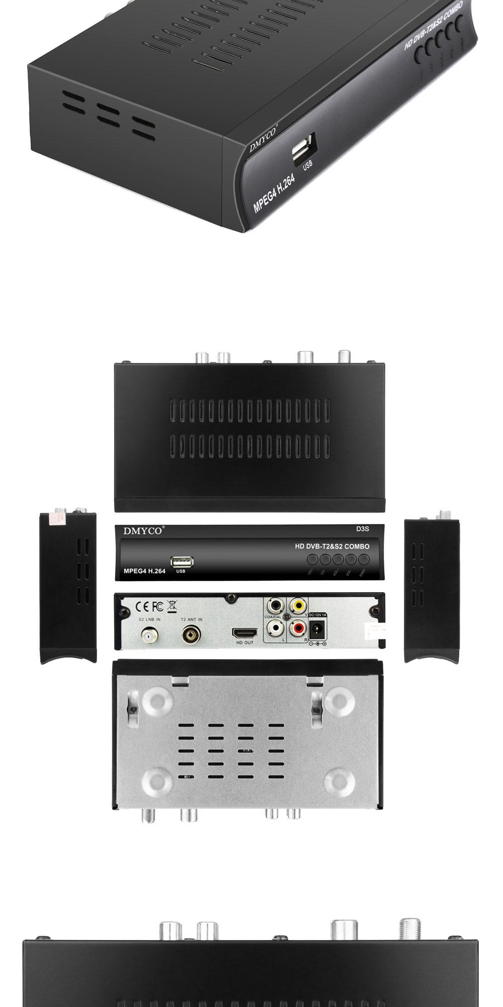 HD DVB T2 S2 bo world Satellite Receiver FTA Terrestrial TV Tuner H 264 MPEG 2 MPEG 4 DVB T2 DVB S2 Clines Smart Media Player