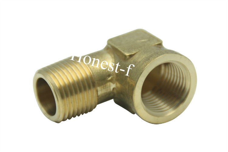 Brass Pipe 90 Deg 1/2 NPT Street Elbow Forged Fitting Fuel Air Boat 1 2 x 1 2 threaded 90 angle elbow pipe fitting connector nipple