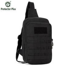 Men's Chest Pack Bag Sling Single Shoulder Strap Pack Bag Travel Bag Male Outdoos Handbags Rucksack Tactics Chest Bag