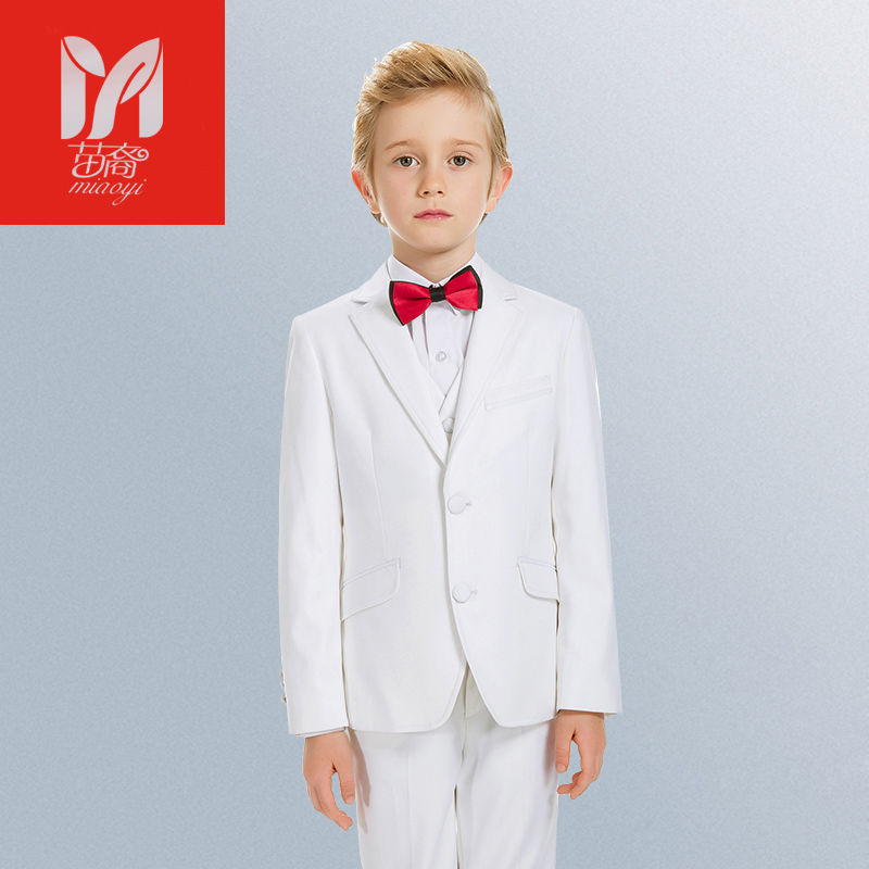 ФОТО 2017 children's leisure clothing sets kids baby boy suits Blazers Dress vest gentleman clothes for weddings formal clothing