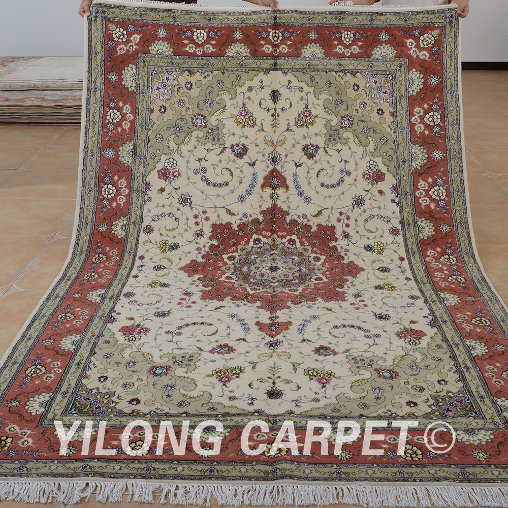 Aliexpress Com Yilong 6 X9 Oriental Nain Handmade Wool Carpet Exquisite Chinese Area Rug 1485 From Reliable Pads For Rugs