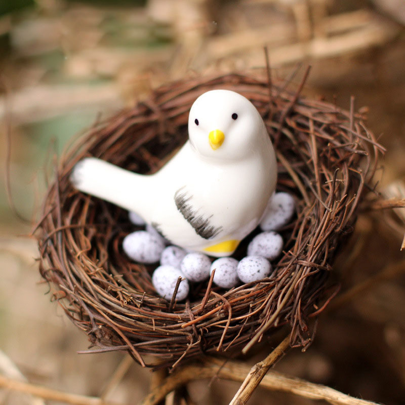 Bird Nest Home Decor