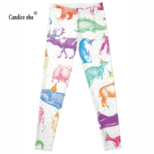 new animal world wholesales New Fashion Women Clothes Hot Digital Print Pants The Riddler Leggings Skinny leggings
