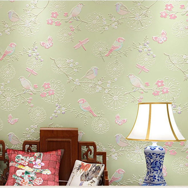Merveilleux ... Aliexpress Com Buy 3d Modern Wallpapers Home Decor Flower Wall