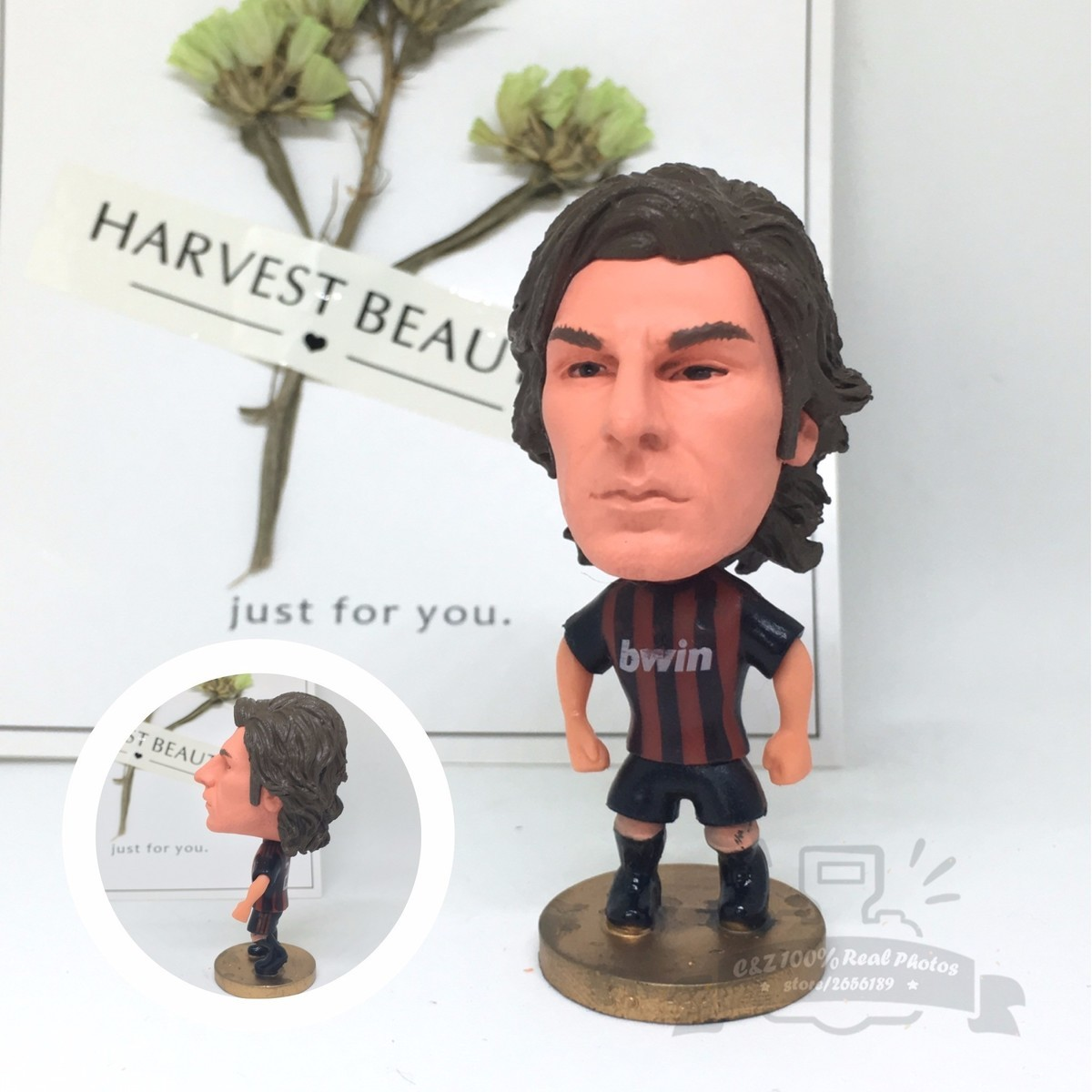 Soccerwe dolls figurine football stars classic 21# Pir Movable joints resin model toy action figure dolls collectible gift