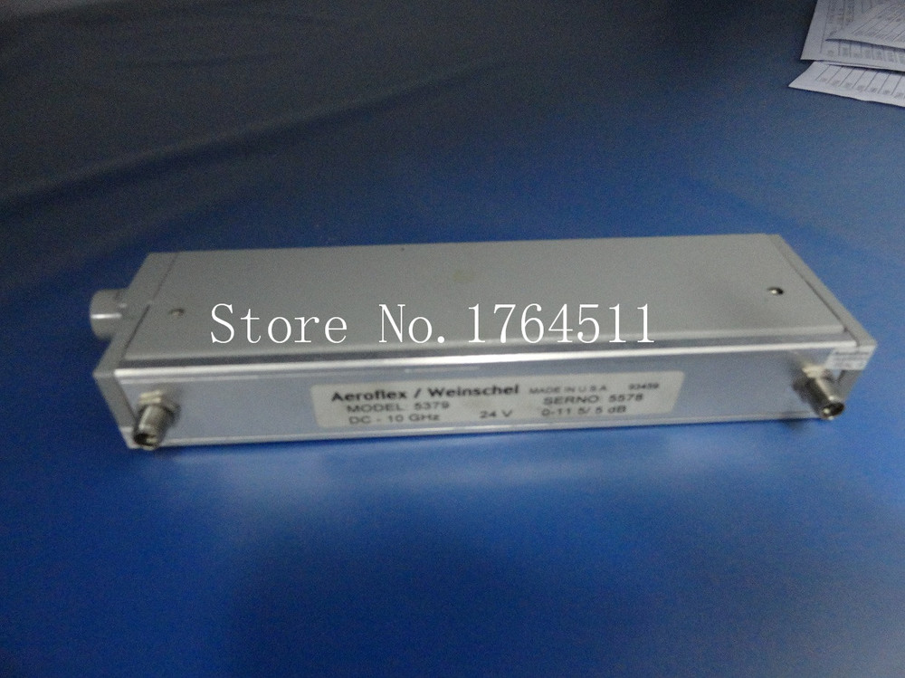 [BELLA] Weinschel 5379 DC-10GHZ 0-11.5dB Programmable Step Attenuator 24V