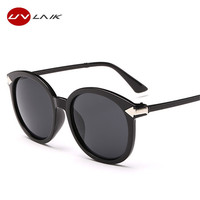 UVLAIK Women Sunglasses Arrow Sun glasses Oversize Retro Women's Glasses UV400 Vintage Sunglass for Women Brand Designer