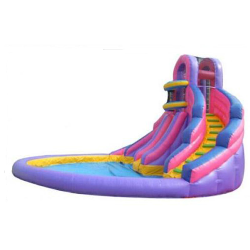 3in1 inflatable fun water slide inflatable pool slides with basketball hoop