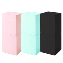 High Quality Makeup Brushes Square Magnetic Make Up Brush Pen Holder Cosmetic Tool Organizer Empty Portable PU Leather Container цены